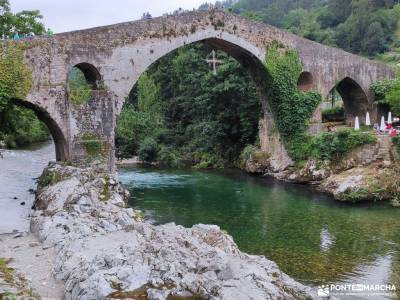 Descenso Sella_Sierra del Sueve; circuitos culturales viajes en diciembre viajar en semana santa la